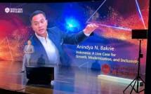 Ketua APEC Business Advisory Council (ABAC) Indonesia sekaligus Wakil Ketua Umum Kadin Bidang Organisasi dan Keanggotaan, Anindya Bakrie