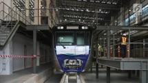 MRT akan mulai proses uji coba operasi secara penuh mulai tanggal 26 Februari 2019.
