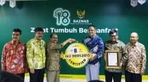 BAZNAS Kembali Raih Sertifikat ISO 9001-2015