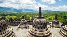 Borobudur, Tempat Wisata di Yogyakarta (Balzs Nmeth/Getty Images)