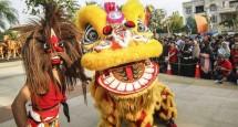 Penampilan Reog dan Barongsai seperti inilah yang akan tampil di Festival Imlek Jiexpo (Foto : ist)