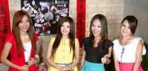 2 dari 4 personil M Girls Asal Malaysia yang akan Puncaki Festival Imlek 2019 di Kemayoran