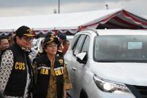 Menteri Perindustrian Airlangga Hartarto bersama Menteri Keuangan Sri Mulyani Indrawati (Foto: Kemenperin)
