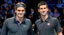 Roger Federer dan Novak Djokovic (Pinterest)