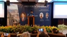 Menteri Perindustrian Airlangga Hartarto saat menjadi pembicara dalam acara HRD Forum Jababeka (Foto: Ridwan/Industry.co.id)