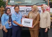 Indah Kiat Tangerang-Pemkot Tangsel Salurkan Bantuan Korban Tsunami Selat Sunda
