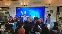 Konferensi Pers Vivo V15 Go Up Grand Launch (Foto: Ridwan/Industry.co.id)