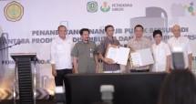 Distributor dan Kios Pupuk Jabar Teken Kontrak Penyaluran Pupuk Bersubsidi 2019