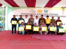 Bantuan sarana dari Kementerian Pertanian