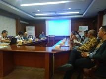 PT Kristamedia Pratama lakukan persiapan dalam pameran Indo Agri Expo yang berlangsung pada 28-30 Maret 2019 di JIExpo, Kemayoran