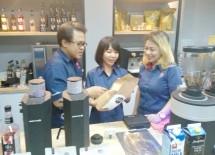 Perusahaan distribusi makanan dan minuman serta peralatan usaha industri kuliner PT Diamond Cold Storage – Sukanda Djaya (Diamond Group) meresmikan gerai Equipment & Beverage House ketiganya di Surabaya, Jawa Timur, pada Selasa (5/3/2019)