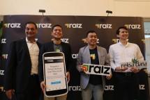 Raiz Invest secara resmi hadir di Indonesia pada Rabu (6/3) di Jakarta. Dengan aplikasi Raiz, kini orang dapat mengumpulkan uang recehnya dan secara otomatis menginvestasikannya di pasar modal.