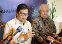 Menteri Perindustrian Airlangga Hartarto bersama Menteri Perdagangan Enggartiasto Lukita (Foto; Kemenperin)