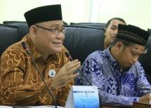 Direktur Utama BNI Syariah, Abdullah Fiman Wibowo saat menjadi pembicara managemen masjid