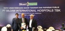 Ketut Budi Wijaya, selaku Presiden Direktur Siloam Hospitals (Foto Dok Industry.co.id)