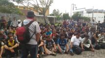 Serikat Pekerja FSPMI PT SMELTING Lakukan Mogok Kerja (fspmi)