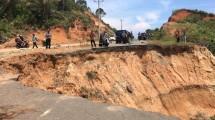 Jalan Amblas di Bengkulu Utara