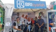 Booth BRI Syariah di Festival Jajan Bango Senayan