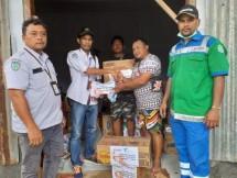 Tim Relawan Pelindo IV Bantu Korban Banjir Bandang Sentani Jayapura