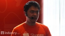 CEO Shopee Chris Feng (Hariyanto/ INDUSTRY.co.id)