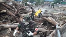 Banjir di Jayapura Papua (Foto Dok Kemensos)