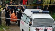 Ilustrasi penangkapan oleh polisi. (AFP/Bima Sakti)