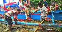 Festival Tulude di Pantai Bahu, Manado (Foto:asj)