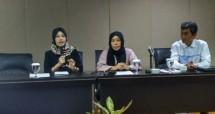 Direktur Riset LKPI, Tatak Ujiyati (Ahmad Fadli/INDUSTRY.co.id)