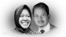 Walikota Surabaya Tri Rismaharini dan Rektor ITS Surabaya Prof. Joni Hermana