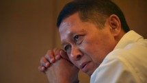 RJ Lino. (Adek Berry/AFP)