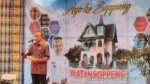 """Sekretaris Daerah Kabupaten Soppeng Sugirman Djaropi membuka promosi wisata """"Ayo ke Soppeng"""" di Menara Kuningan, Jakarta, Kamis (23/2/2017). (Irvan AF/INDUSTRY.co.id)"""