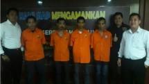 Salman Nuryanto dan tiga pengurus KSP Pandawa dicokok polisi. (Foto: IST)