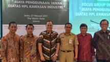 PT JIEP selenggarakan Forum Group Discussion perihal Biaya Penggunaan Tanah di atas HPL kawasan Industri