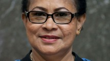 Menteri Pemberdayaan Perempuan dan Perlindungan Anak Indonesia, Yohana Yembise (Foto:poskota)