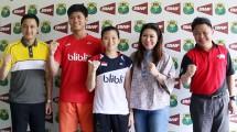 Kepala Bidang Pembinaan Prestasi Susy Susanti Bersama team (badmintonindonesia)