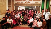 Guruh Sokerano Putra bersama Pengurus Indonesia Gastronomy Association