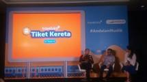 Traveloka Kerjasama Dengan PT KAI Untuk Pembelian TIket Online (Chodijah Febriyani/Industry.co.id)
