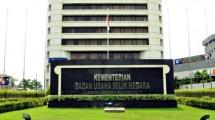 Kantor Kementerian BUMN. (Istimewa)