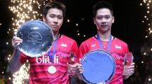 Marcus Fernaldi Gideon/Kevin Sanjaya. (Foto: BadmintonIndonesia.org)