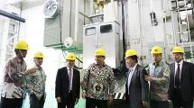 Menteri Perindustrian, Airlangga Hartarto Pada Peresmian Pabrik Transformator Tenaga PT XD Sakti Indonesia di Jawa Barat