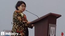 Direktur Jenderal Bina Kefarmasian dan Alat kesehatan Kementrian RI, Maura Linda Sitanggang (Hariyanto/ INDUSTRY.co.id)