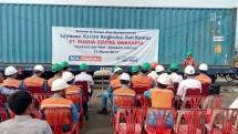 PT. Buana Centra Swakarsa (BCS Logistics) Mulai Operasikan Kereta Barang dari Cikarang Dryport