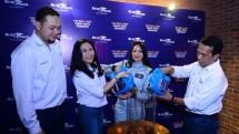 Phyllo Arihta Tarigan, GM PT Pusaka Bersatu, Noni Purnomo - President Director Blue Bird Group, Diandra Gautama - Pebalap Indonesia, Mohamad Asri Bin Jusoh - Director PT Pusaka Bersatu.