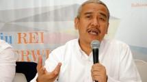 Ketua umum Real Estate Indonesia (REI), Soelaeman Soemawinata (Foto:mpi-update)