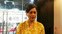 Friderica Widyasari Dewi, Direktur Utama KSEI (Foto: Tribunnews)