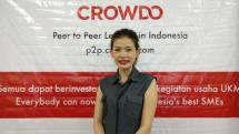 Cally Alexandra, Perwakilan Crowdo Indonesia