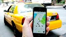 Ilustrasi Taksi Online (Ist)