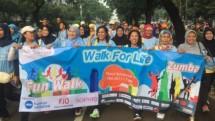 Jalin Kemitraan, FJO dan PKPU Gelar Fun Walk 2017 yang diikuti ratusan warga Jakarta