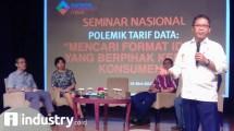 Menteri Komunikasi dan Informatika Rudiantara (Hariyanto/ INDUSTRY.co.id)
