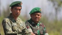 Presiden Jokowi dan Panglima TNI Gatot Nurmantyo (Foto Istimewa Militer)